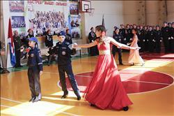 В школе № 7 «Эдельвейс» состоялось юбилейное посвящение в кадеты